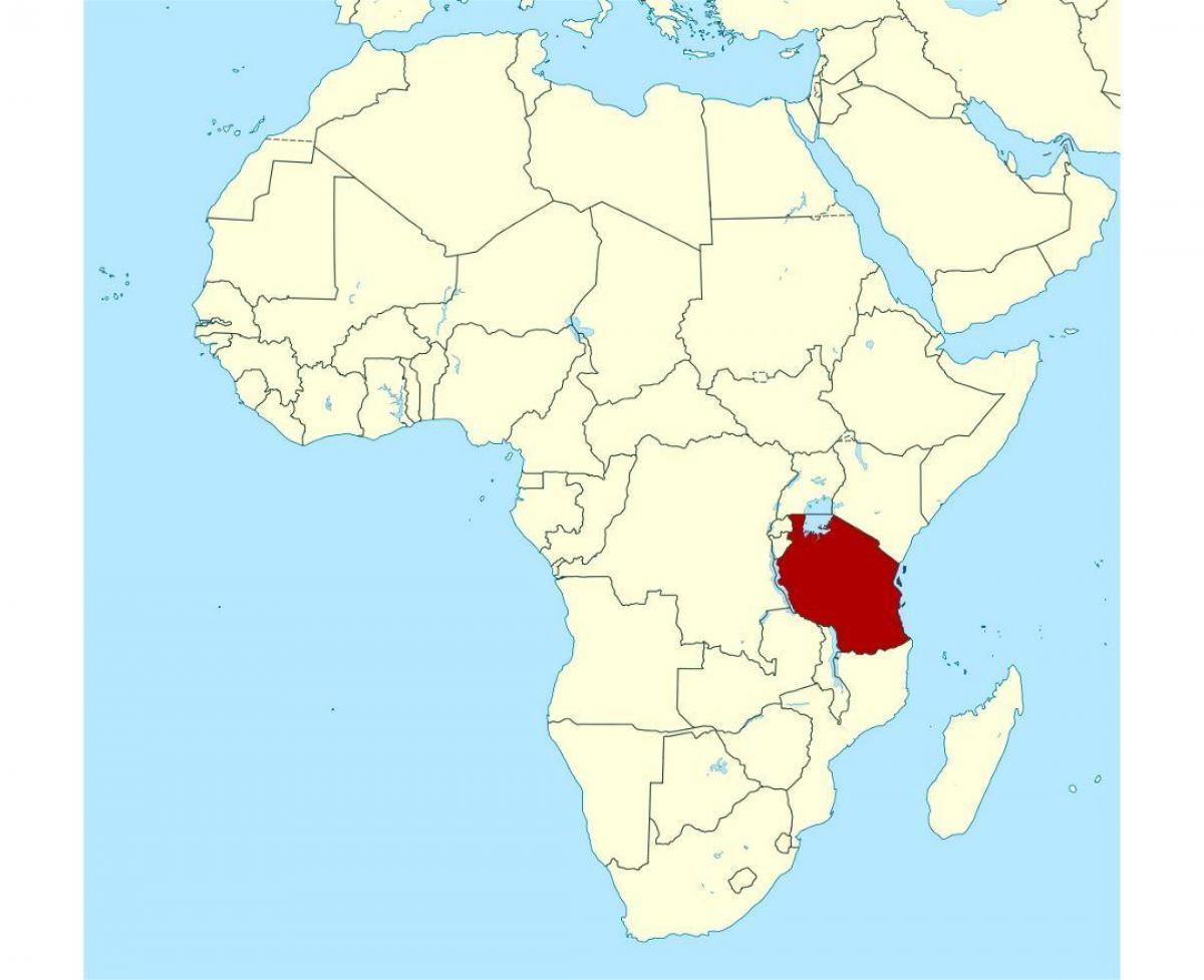 Tanzania Africa World Map.Location Of Tanzania On World Map Map Of Location Of