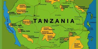 A map of tanzania